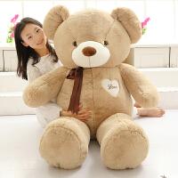 熊公仔抱枕大号布娃娃抱抱熊玩偶毛绒玩具生日礼物送女生