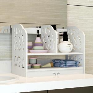 门扉 书架 桌面书本置物架办公桌简易桌面收纳架杂物整理架化妆品储物架