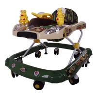 婴儿童学步车宝宝助力滑行车加厚多功能折叠音乐玩具车6/7-18个月