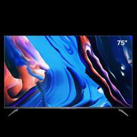 TCL 75V8 75英寸液晶平板���C 4K超高清 防�{光�o眼 超薄金��C身 全面屏 智慧屏 人工智能 教育��