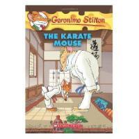 英文原版 老鼠记者40:空手道高手 Geronimo Stilton #40:The Karate Mouse