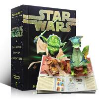 英文原版 Star Wars A Galactic Pop-Up Adventure 星球大战立体书 配有激光剑 星战