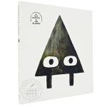 Triangle 英文原版绘本 三角形 精装童书 凯迪克获奖名家绘本 趣味故事 风趣幽默 3-8岁 在幽默小故事中认识
