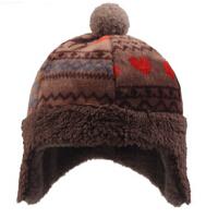 时尚儿童保暖帽小熊套头帽儿童棉帽女童帽冬季童帽男童雷锋帽适合6-9岁