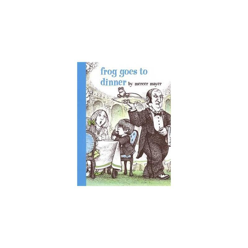 Boy, Dog, Frog: Frog Goes to Dinner 青蛙去吃晚餐 ISBN9780803728844