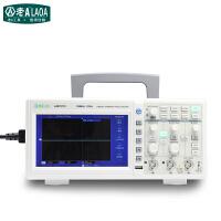老A(LAOA)便携式数字示波器 LA815110  50米100米 双通道示波器 白色