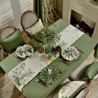 北欧桌布布艺棉麻长方形地中海餐桌垫布茶几台布美式乡村欧式