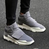 DAZED CONFUSED冬季板鞋增高鞋红色潮鞋男士运动休闲鞋韩版潮流男鞋子保暖鞋