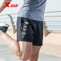 特步男子运动短裤2018夏季新款轻薄跑步运动梭织短裤舒适轻薄男裤882229679337