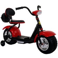 新款小哈雷儿童电动摩托车童车三轮车男女宝宝可玩具车2-6岁
