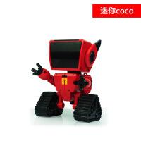 机器人小铁电动遥控跳舞语音对话机器人玩具