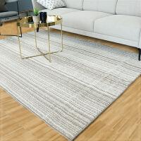 条纹地毯简约现代客厅沙发茶几地毯垫卧室床边地毯可机洗脚垫