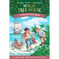 【现货】英文原版儿童书 Magic Tree House #4 Pirates Past Noon 神奇树屋4:午后的