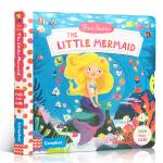 英文原版进口童书 First Stories系列 Little Mermaid 小美人鱼 机关操作活动玩具纸板书 1-