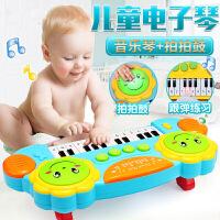 宝宝电子琴玩具0-1-3岁早教小孩婴幼儿童钢琴女孩可弹奏初学
