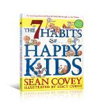 顺丰包邮 高效能人士的七个习惯 儿童版 7 Habits of Happy Kids 英文原版 快乐孩子的七个习惯 好