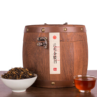 蜜香型金骏眉红茶茶叶礼盒木桶装