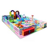 4店儿童区游乐园幼儿设备宝宝家庭游乐场室内滑梯秋千组合淘气堡