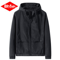 Lee Cooper新款日系�凸判蓍e�B帽�A克衫男士秋季服�b外套