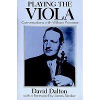 【预订】Playing the Viola: Conversations with William