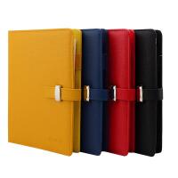 B5 A5 A6皮面活页本 笔记本子可换替芯软皮插口带插笔记事本