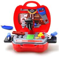儿童过家家工具箱玩具套装维修理收纳箱3-4-5-6岁男孩男宝宝