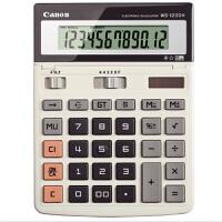 佳能(Canon)WS-1200H 财务计算器太阳能大号办公多功能计算机商务计算器计算机