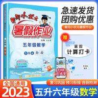 黄冈小状元暑假作业五年级数学2021新版五升六年级