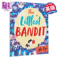 【中商原版】Ali Pye The Littlest Bandit 小强盗 精品绘本 低幼故事绘本幽默 英文原版 3-6