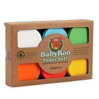 美乐Joan Miro儿童多彩泥太空泥安全橡皮泥玩具 生态彩泥6色