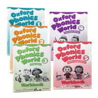 牛津少儿英语自然拼读世界练习册1-5册 英文原版 Oxford Phonics World 1-5 Workbook