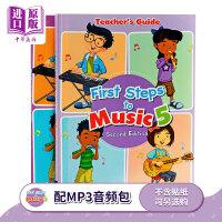 【中商原版】【儿童乐理基础素养入门 乐理视唱练耳(全英原版)】First Steps To Music Primary