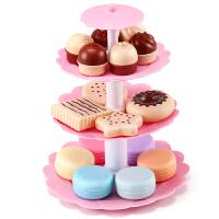 公主甜品切生日蛋糕塔 儿童过家家厨房仿真玩具套装做饭女孩宝宝