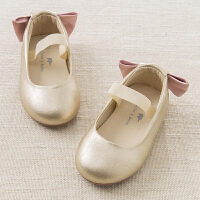 [2件3折价:98.1]戴维贝拉春款女童公主皮鞋 宝宝浅口单鞋DB6749