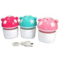 USB/电池 迷你发光蘑菇灯 LED灯香薰小夜灯 驱蚊灯 香水精油