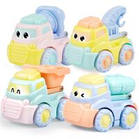 惯性小汽车儿童工程车玩具汽车 宝宝玩具车男孩警车汽车玩具
