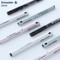 德国Schneider施耐德学生考试签字笔中性笔走珠笔861办公大容量黑色商务水笔小清新学生用考试笔官网旗舰店