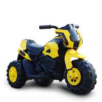儿童电动摩托车带灯光音乐可前进后退可坐玩具车电瓶车