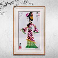 陕西皮影民间工艺品特色装饰挂件 中国特色礼品送老外出国小礼物