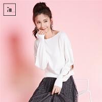 2017年冬装新款韩版时尚针织打底衫中长毛衣外套宽松高领毛线衣女70008321