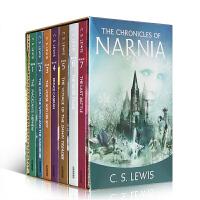 【顺丰包邮】进口英文原版青少年小说 The Chronicles of Narnia 纳尼亚传奇全套7本盒装 章节书The Lion, the Witch and the Wardrobe课外读物
