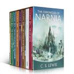 【顺丰包邮】进口英文原版青少年小说 The Chronicles of Narnia 纳尼亚传奇全套7本盒装 章节书T