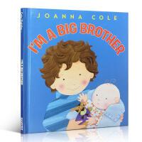 英文原版进口绘本 I'm a Big Brother 我是一个大哥哥儿童情绪 情商管理 温馨亲情读物 二胎绘本睡前故事