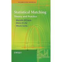 【预订】Statistical Matching - Theory And Practice