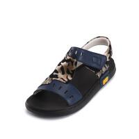 童鞋男童凉鞋夏季新款迷彩中大童滑凉鞋