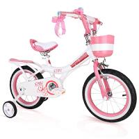 童车脚踏车单车礼物 儿童自行车3岁女孩宝宝2-4-6-7-8-9-10岁