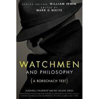 【预订】Watchmen And Philosophy: A Rorschach Test