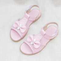 新款女童凉鞋公主鞋儿童凉鞋中大童女孩童鞋沙滩露趾