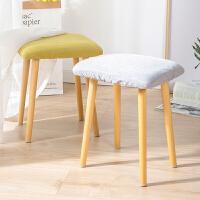 亿家达餐椅凳简约现代家用矮凳经济型布艺凳懒人凳子客厅创意板凳梳妆凳