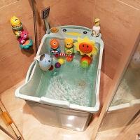 婴儿游泳桶宝宝浴盆 儿童小孩沐浴桶可坐大泡澡桶洗澡桶可折叠